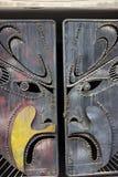 Beijing opera facial mask stock image