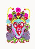 Beijing Opera Facial Masks Royalty Free Stock Image