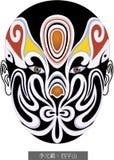 Beijing Opera Facial Masks Peking Opera Makeup Chinese royalty free illustration