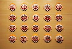 Beijing Opera Facial Masks Stock Image
