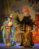 Beijing Opera: Farewell to my concubine. Farewell to My Concubine is the art of Beijing Opera master Mei Lanfang performances of the Mei School of classical Royalty Free Stock Photography