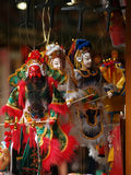 Beijing opera figures Royalty Free Stock Images