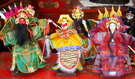 Beijing Opera Figurine Stock Images