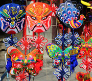 Beijing Opera mask Royalty Free Stock Photos