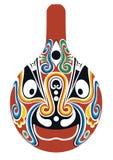 Beijing opera mask Royalty Free Stock Photo