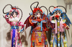 Beijing Opera Puppet. View of traditional Beijing Opera puppet royalty free stock photo