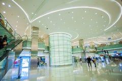 Beijing Oriental Plaza interior Stock Image