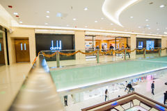 Beijing Oriental Plaza interior Royalty Free Stock Photo