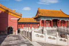 Beijing Palace Museum Taihe Temple Square Royalty Free Stock Image