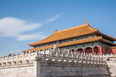 Beijing Palace Museum Taihe Temple Square Stock Images