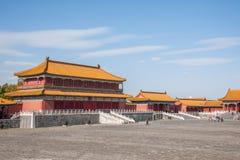 Beijing Palace Museum Taihe Temple Square Stock Photo