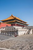 Beijing Palace Museum Taihe Temple Square Royalty Free Stock Photography