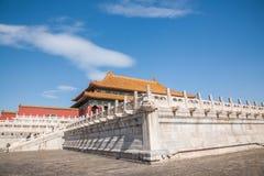Beijing Palace Museum Taihe Temple Square Stock Photos
