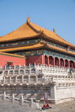 Beijing Palace Museum Taihe Temple Square Royalty Free Stock Images