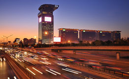 Beijing Pangu Hotel,IBM Building Stock Photo