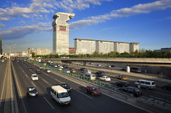 Beijing Pangu Plaza Hotel,IBM Building Royalty Free Stock Photos