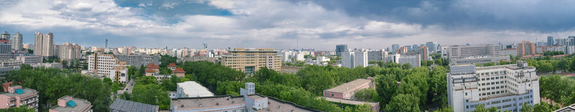 Beijing panorama Royalty Free Stock Images