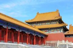 beijing porcelanowy miasto zakazujący muzealny pałac obraz royalty free