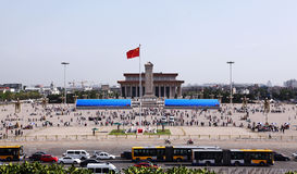 beijing porcelany kwadrat Tiananmen Obrazy Stock