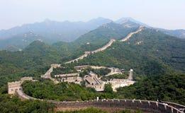 beijing porcelany wielki mur Fotografia Royalty Free