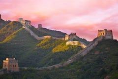 beijing porcelany wielki mur zdjęcie stock
