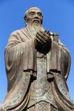 beijing porslinconfucius staty Royaltyfri Bild