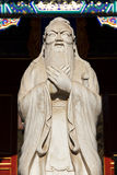 beijing porslinconfucius staty Royaltyfri Fotografi