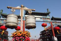 Beijing qianmen commercial street Stock Images