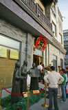 Beijing qianmen street Royalty Free Stock Photography