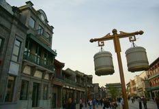 Beijing qianmen street Stock Photo