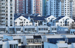 Beijing Residence Community Stock Photos