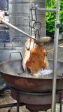 Beijing Roasted Duck cooking Royalty Free Stock Photography