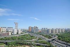beijing ruch drogowy zdjęcie stock