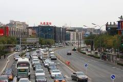 beijing ruch drogowy Zdjęcia Royalty Free