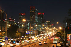 Beijing's central business district Stock Images