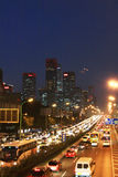 Beijing's central business district Stock Photo