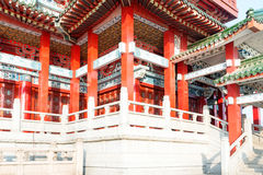 Beijing's Chinese ancient architecture Stock Photos