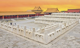 Beijing's Forbidden City Stock Photography