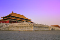 beijing's Imperial palace Stock Images