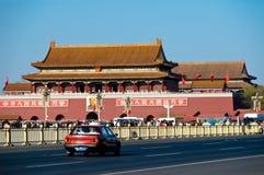 beijing s kwadratowy Tiananmen Fotografia Royalty Free