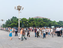 Beijing's main square - Tiananmen Royalty Free Stock Image