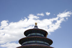 Beijing's Temple of Heaven. The Temple of Heaven in Beijing, China Royalty Free Stock Image