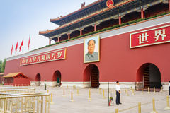 Beijing's tiananmen building scenery ,in China Royalty Free Stock Photo
