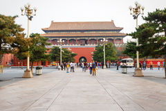 Beijing's tiananmen building scenery ,in China Stock Photography