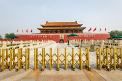 Beijing's tiananmen building scenery ,in China Stock Image