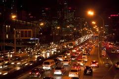 Beijing's traffic jam Royalty Free Stock Image