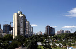Beijing's urban landscape Stock Images