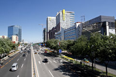 Beijing's urban landscape Royalty Free Stock Image