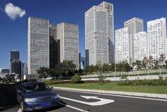 Beijing's urban streetscape Stock Image