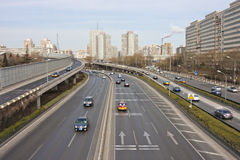 Beijing's urban traffic, China. Beijing's urban traffic of China royalty free stock images
